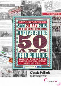 """Revue de presse """"50 ans de la Paillade"""" Samedi 28 février 2015"""