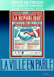 """Revue de presse """"Assises des discriminations"""" Lundi 9 février 2015"""