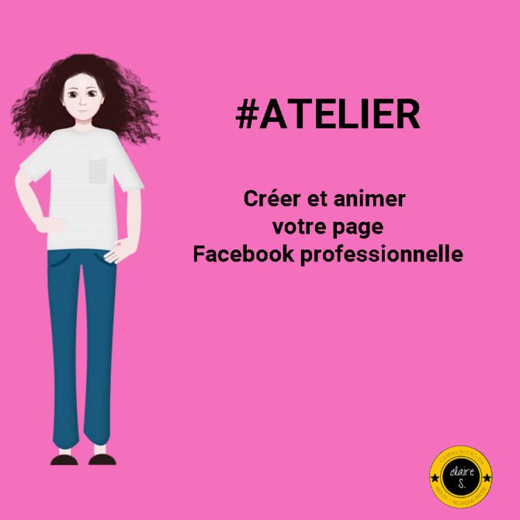 créer et animer votre page facebook professionnelle