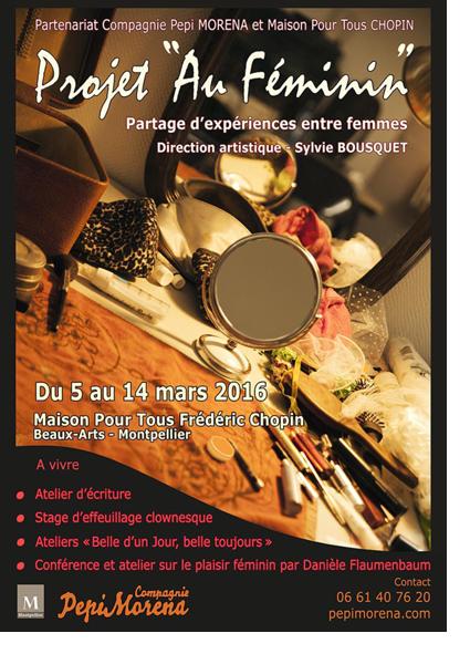 Projet Au Féminin 2016-1