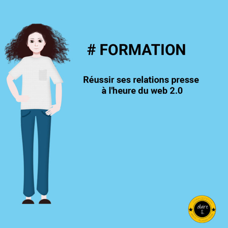 formation relations presse