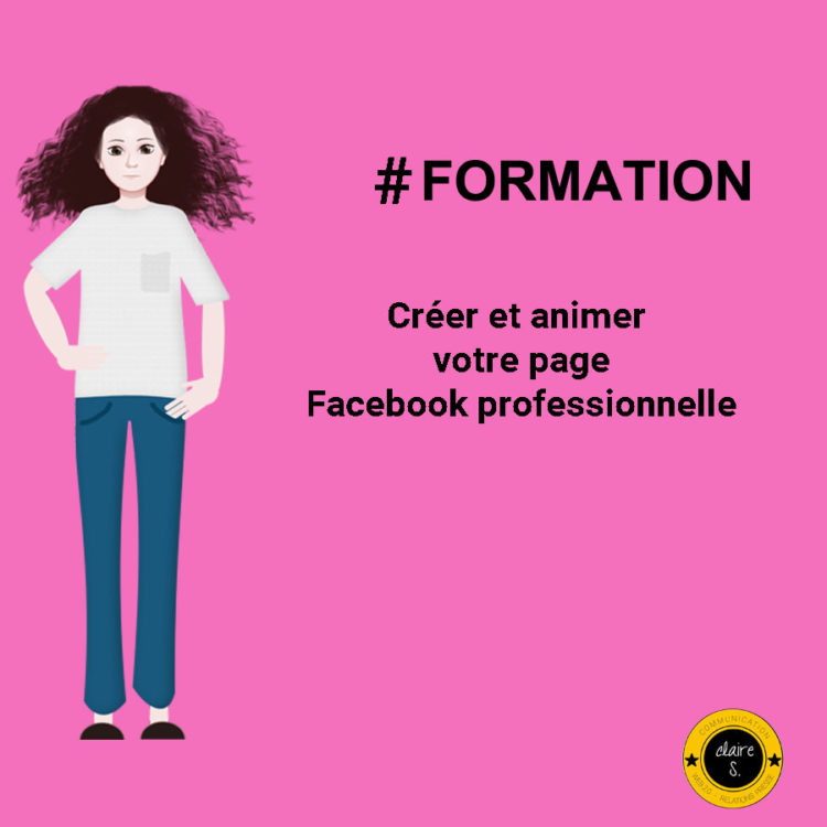 formation page facebook professionnelle